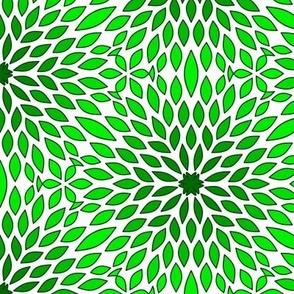 Burst Leaf Vegetation Tile
