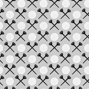golf tee x gray 20 and black
