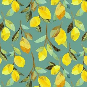 Lemon Branches {Duck Egg}