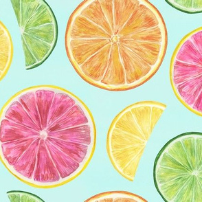 Citrus-Pattern-Pop-Art