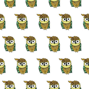 Cute Owl Girl