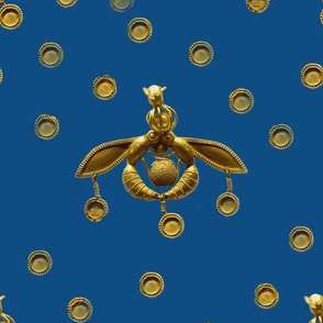 Minoan Bees and Sequins