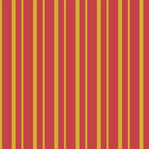 Gold Stripes on a Red backgroundBG