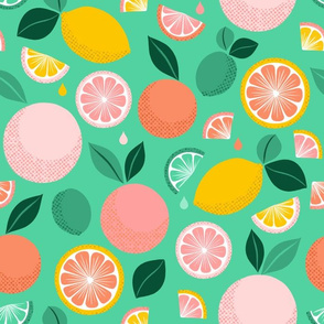 Pop Citrus Party - Green
