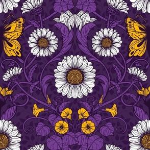 Art Nouveau daisies