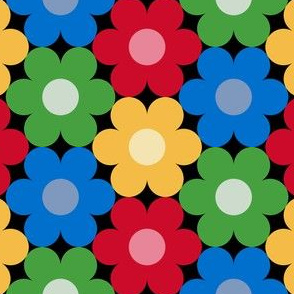09528914 : circle7flower : christmascolors