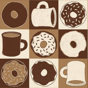 "Coffee & ""Doh""nuts (Latte)"