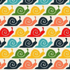 retro snails