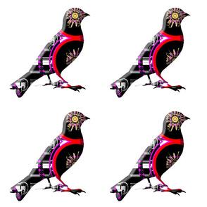 STANDING TALL-ABSTRACT BIRD (13)