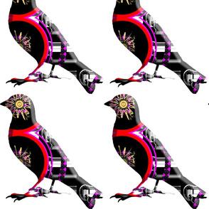 STANDING TALL-ABSTRACT BIRD (14)