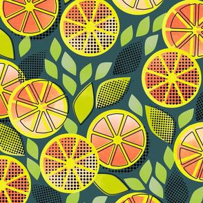 Pop Art Grapefruit