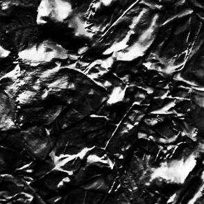 Textured in black