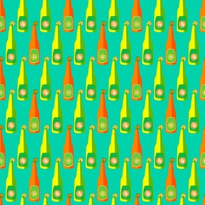 Aqua Citrus Bottles Small Scale