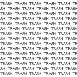trash half size