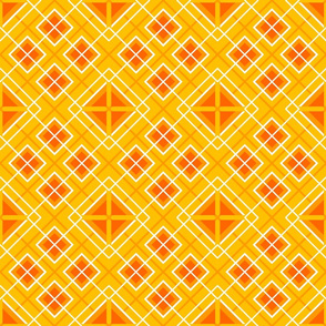 Not Quite Plaid_Orange
