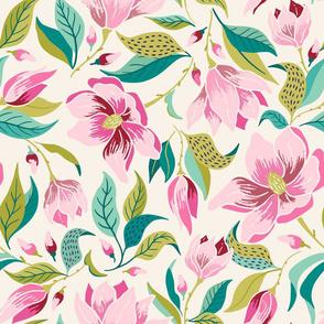 magnolia/cream