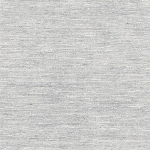 Solid Woven Texture- Heather Grey