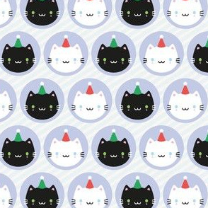 Cute Cats in Party Hats