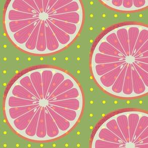 Citrus Wheel Lime - Large