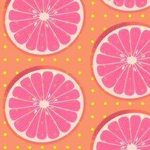 Citrus Wheel Orange - Large