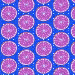 Citrus Wheel Blue