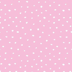Abstract animals spots and dots texture winter snow flakes pastel pink
