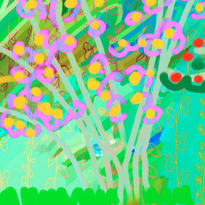 COLORFUL TREES 1