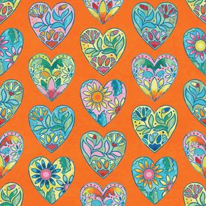 Boho Love (Orange)