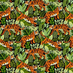 Bengal Tiger Jungle (Small Version)