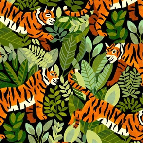 Bengal Tiger Jungle (Medium Version)