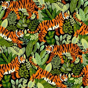 Bengal Tiger Jungle (Large Version)