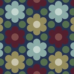 09540476 : circle7flower : herizpalette