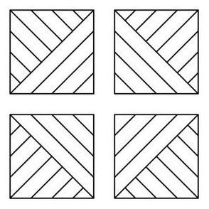 09540811 : pieced squares 4m