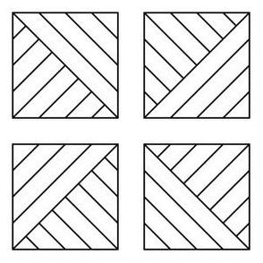 09540812 : pieced squares 4g