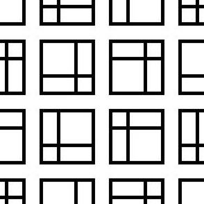 09540874 : mondrian squares 4g