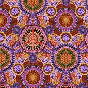 Kaleidoscopic Floral medium scale
