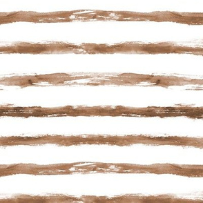 Earthy brush stroke stripes ★ watercolor grungy boho for neutral modern home decor, bedding, nursery