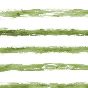 khaki painted stripes ★ grungy watercolor horizontal stripes for modern home decor, bedding, nursery