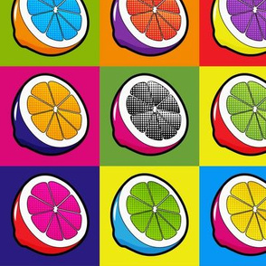 Lemons Pop Art - 50% Size