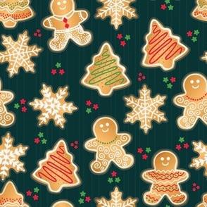 Christmas Cookies Night, Gingerbread Man, Snowflake Sweets
