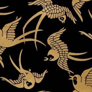 DARK BLUE DRIPS