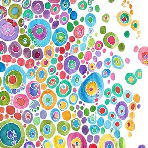 Inner Circle Border Print Spandex