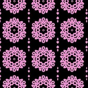 Pink Flowers Mandela