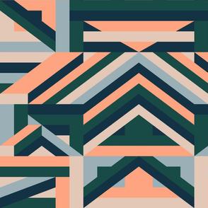Modernist- LS - Forest Green