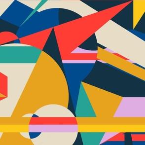 Modernist- LS -Abstract Desert