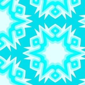 Frozen Crystal Ice Blue Geyser Nature Element