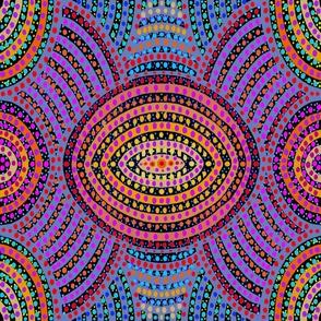 Maori Tribal Tattoo Dots - large scale