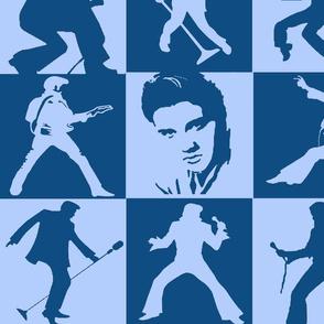 Elvis Presley - Blue Suede Shoes Quilt