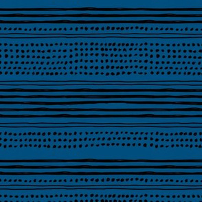 Minimal mudcloth bohemian mayan abstract indian summer aztec design classic blue black