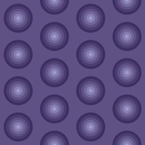 Maya, violet, circles geometric, Relax Night and Day